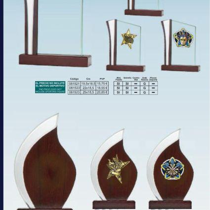 Trofeo de Madera