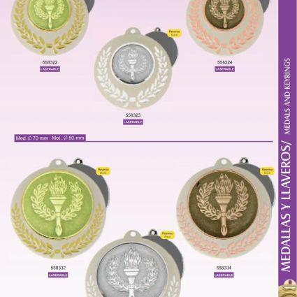 Medallas Línea E