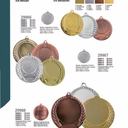 Medallas Línea P