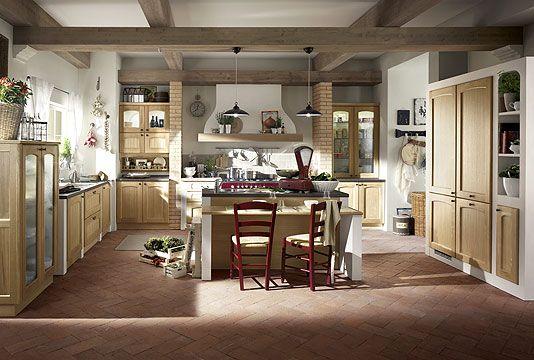Cocinas diseno rustico idea pardo electrodom sticos - Provence mobiliario ...