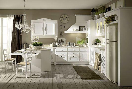 Cocinas diseno rustico idea pardo electrodom sticos for Provence mobiliario