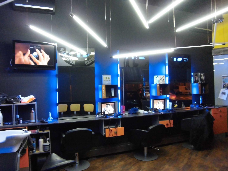 Iluminacion proyectos soluciones electricas en cullera for Iluminacion para peluquerias